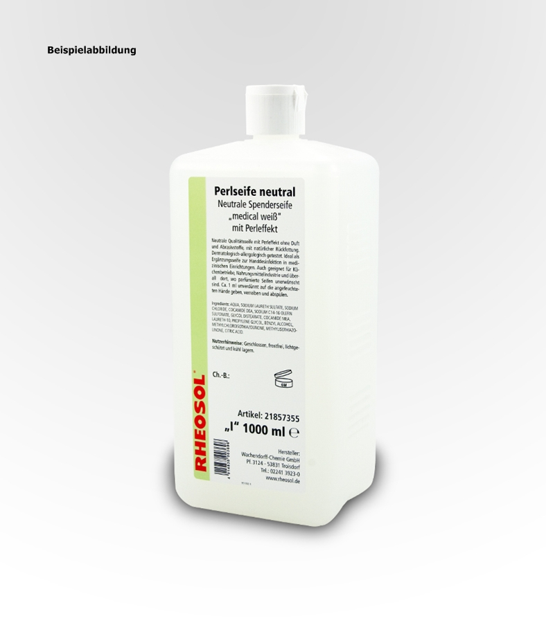rheosol perlseife neutral 5 liter kanister hygiene. Black Bedroom Furniture Sets. Home Design Ideas
